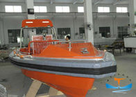 Light Weight Solas Rescue Boat , Fire Protected Lifeboat 6-16 Person Capacity
