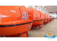 China Totally Enclosed F. R. P Fiberglass Lifeboat Solas Approved