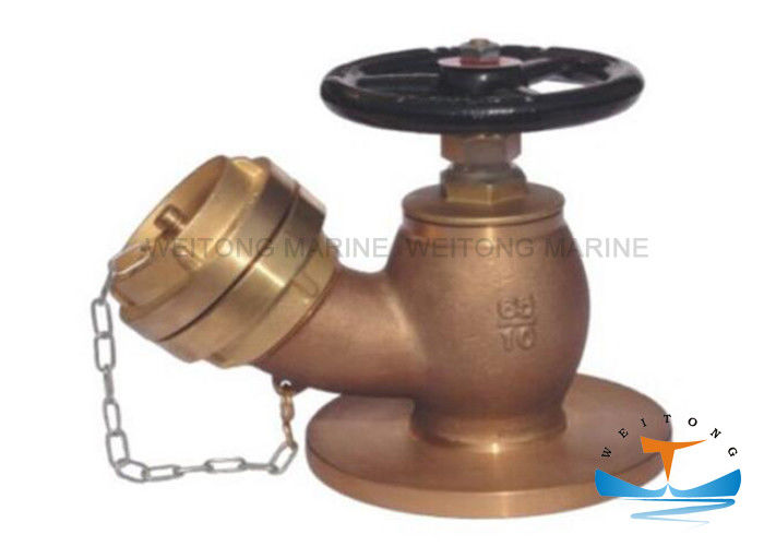 45° Flanged Fire Hydrant for Marine Use