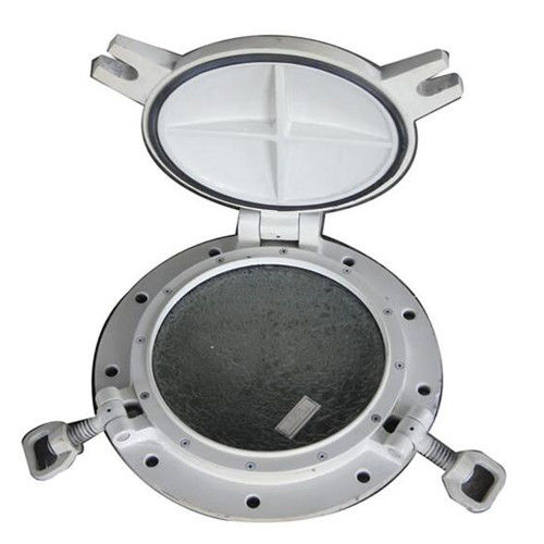 A60 Fire Proof Marine Windows For Boats Customized Length 200-450mm Diameter