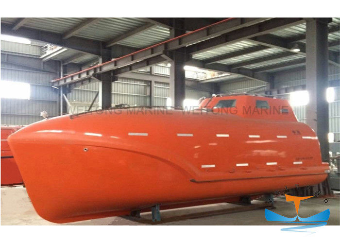 Marine FRP Free Fall Enclosed Life Boat with BV Dnv ABS CCS 15-33 Persons Totally Enclosed Lifeboat