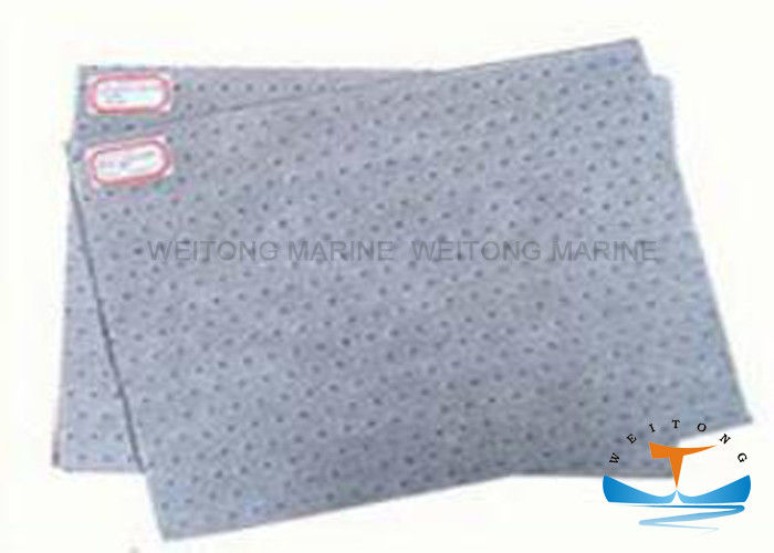 Universal Absorbent Mat 3-8mm Thickness Customized Size Meltblown Technics