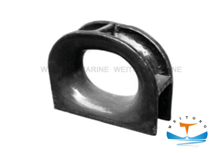 JIS F2017-82 Marine Mooring Equipment AC Panama Chock With Polishing Surface